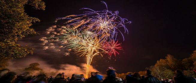 Hitchin Priory Fireworks