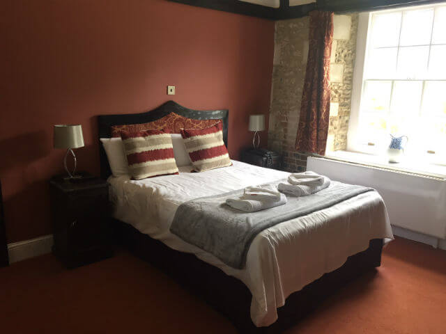 Hitchin Priory Bedroom
