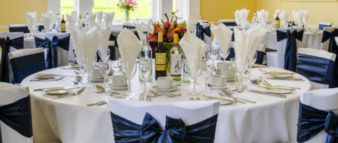 Hitchin Priory Wedding Breakfast Adam Room