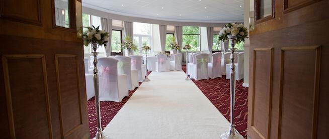 Chartridge Lodge Wedding Ceremony